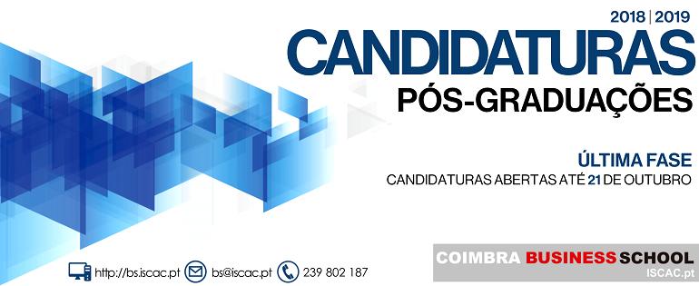 ÚLTIMA FASE - CANDIDATURAS| Candidaturas Pós-graduações 2018/19