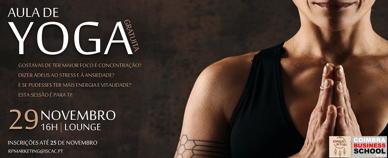 Aula de YOGA | Gratuita