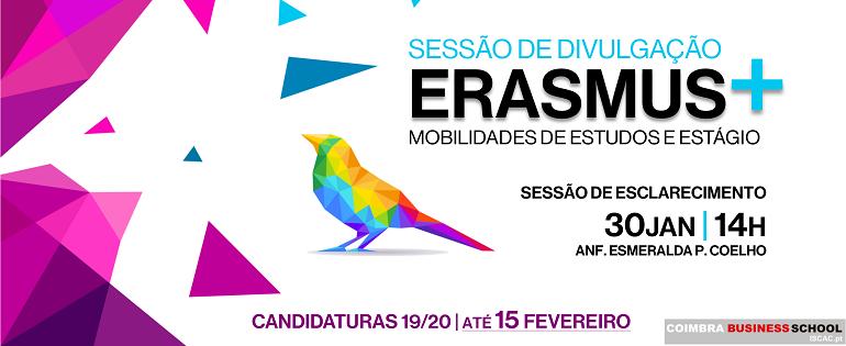 ERASMUS + | Sessão de Divulgação