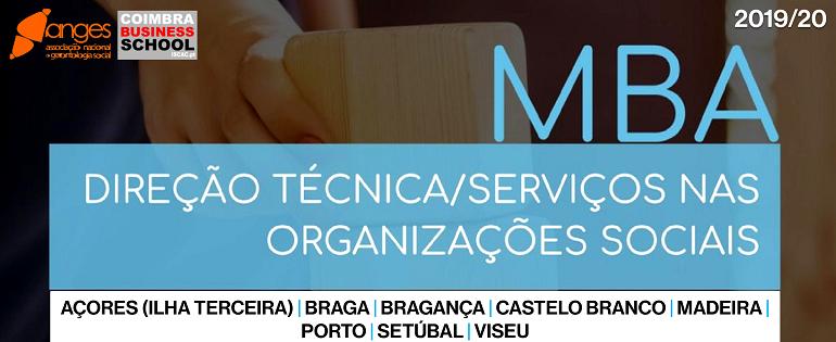 MBA | Direção Ténica/Serviços nas Organizações Sociais