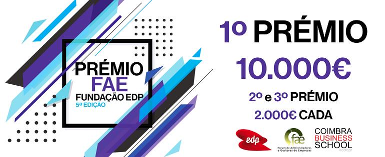 PRÉMIO FAE | Fundação EDP 5ªEdição