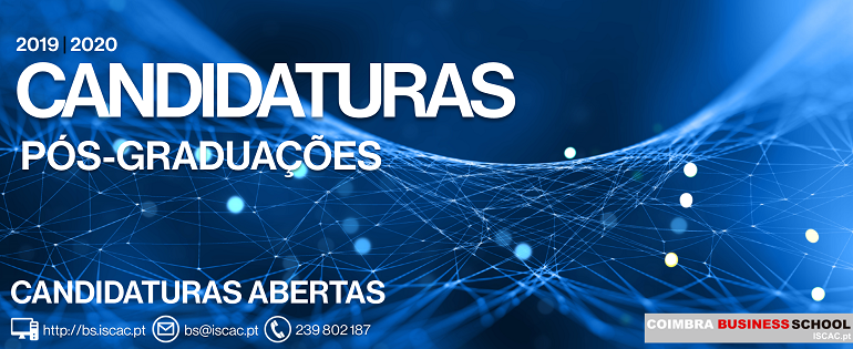 CANDIDATURAS | Pós-Graduações 2019/20