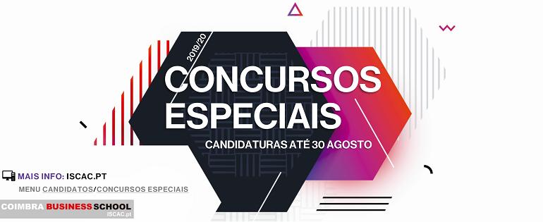 Concursos Especiais 2019/2020