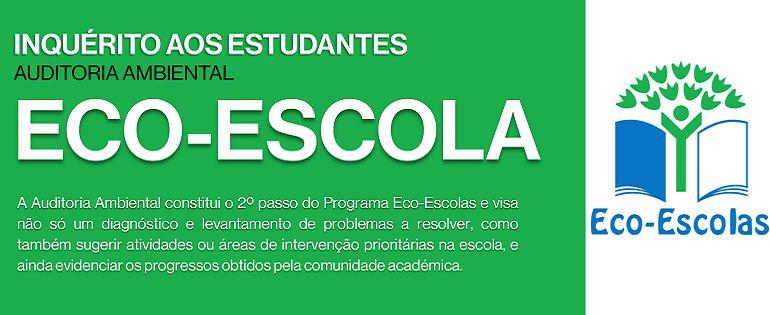 Inquérito aos Estudantes | ECO- ESCOLA