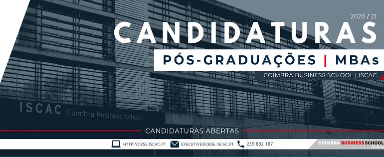 1ª Fase | Candidaturas - Pós-Graduações