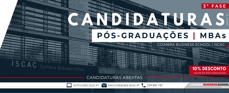 3ª Fase   Candidaturas - Pós-Graduações